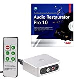 auvisio Audio Recorder: Autarker Audio-Digitalisierer mit Software Audio Restaurator Pro 10 (Audio Konverter)