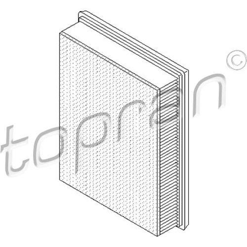 Preisvergleich Produktbild TOPRAN Luftfilter, 700 665
