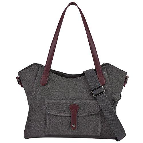 ac2fbe5900 ... fourre tout femme Sac porte epaule femme Sac besaces femme pour voyage  college shopping travail