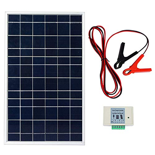ECO-WORTHY Kit sistema panel solar 10 vatios: 1 módulo