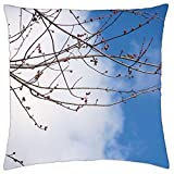 First Buds of Spring - Throw Pillow Cover Case (18