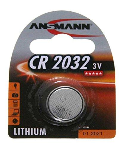 Ansmann CR2032 Batteria a Bottone, Grigio