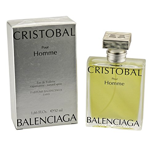 Balenciaga Cristobal Men Eau de Toilette Spray 50ml (De Spray Toilette Balenciaga Eau)