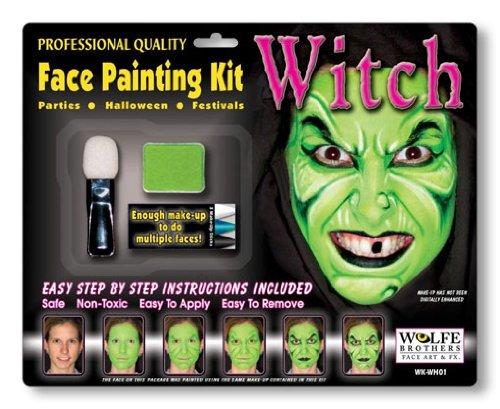 Hexen Make-up Komplett Set (Make Hexe Für Up)