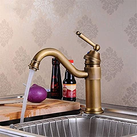 Modylee Promozione NUOVO antico rame bagno lavandino rubinetto cucina Miscelatore