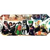 Canvas Picture/Print ~ LEGO SUPERHEROES/ SUPER HEROES ~ Batman/Star Wars etc