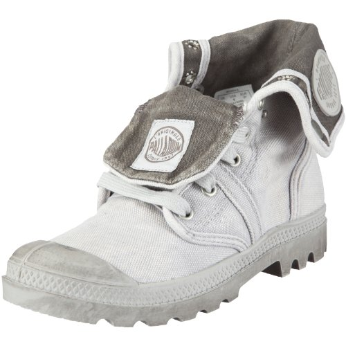 Palladium Pallabrouse Baggy, Damen Desert Boots, Grau (Vapor/Metal), 39 EU (5.5 Damen UK)