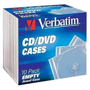 Verbatim 49988 Boîtier pour CD / DVD 10 pièces