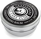 Beard Balm - Premium Quality Conditioning Butter For Creating Beard Styles, Goatees, Sideburns + Moustaches - Extra Large 60ml Tub - Improve Growth, Shine And Add Texture To All Beards - 100% Money Back Satisfaction Guaranteed