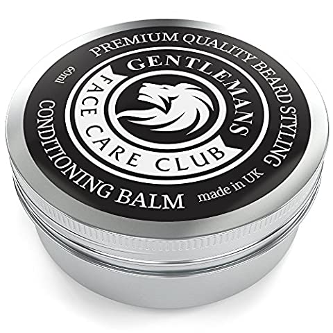 Beard Balm - Premium Quality Conditioning Butter For Creating Beard Styles, Goatees, Sideburns + Moustaches – Extra Large 60ml Tub - Improve Growth, Shine And Add Texture To All Beards - 100% Money Back Satisfaction Guaranteed
