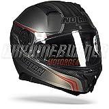 Casco para Motocicleta Integral Nolan N87 Rapid de policarbonato, Color Negro Mate, Talla 2XL
