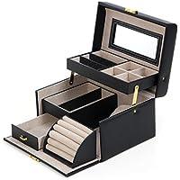 Songmics Portagioie Scatole per gioielli Custodia box Scatola anello JBC114