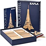 Kapla Torre Eiffel Box Bloques de Madera de Pino