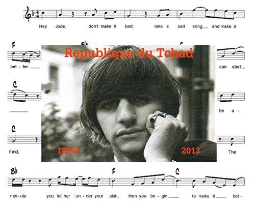 La collezione Beatles - Ringo Starr Lennon Imperforate miniatura francobollo minifoglio - condizione Superb e mai incernierate - 2013 / Ciad / 1000F