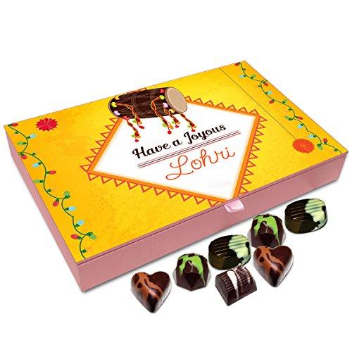Chocholik Lohri Gift Box - Have A Joyous Lohri Chocolate Box - 12Pc