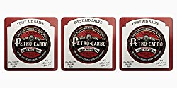 J.R. Watkins Apothecary Petro-Carbo Medicated First Aid Salve (Three Pack) 4.37oz