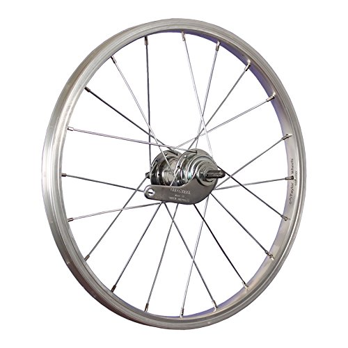 Taylor-Wheels 18 Zoll Hinterrad Büchel Alufelge/Velosteel Rücktrittnabe - Silber