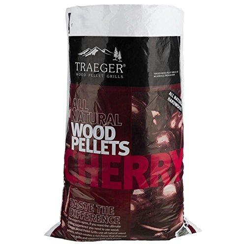 Traeger pellet di ciliegio 9kg per barbecue a pellet giardino ed esterni
