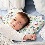 Baby Kopfkissen,orthopädisches Babykissen gegen Kopfverformung und Plattkopf,Memory-Schaum Baby-Kissen,Visco-Schaum Kinderkissen Babykissen für Plagiozephalie (tiger)