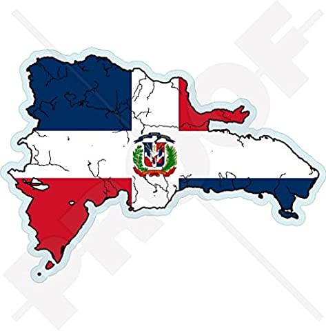 DOMINICAN REPUBLIC Map-Flag, Hispaniola Dominicana 5