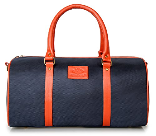 The Clownfish Matte Series 18 inch/20 Liters Electric Blue Travel Duffle / Luggage Weekender Bag With Inner Pocket and One Year Brand Warranty
