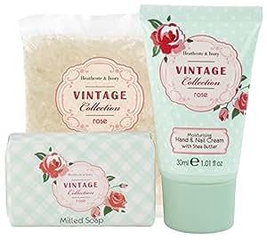 Heathcote & Ivory Vintage Rose mano e armadi bagno bellezza