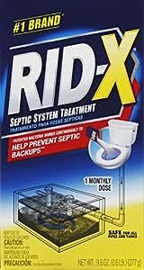 RECKITT BENCKISER - Rid-X 9.8-oz. Powder Bacteria Additive