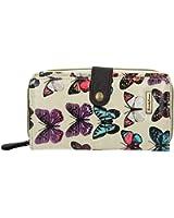 Roche Butterfly Print Wallet -- SwankySwans