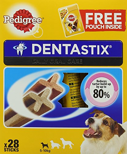Pedigree-Dentastix-Dental-Dog-Chews-Small-Dog-Pack-of-4-Total-4-x-28-Sticks