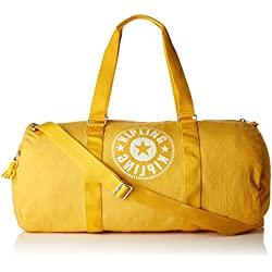 Kipling ONALO L Bolsa de viaje, 57 cm, 33 liters, Amarillo (Lively Yellow)