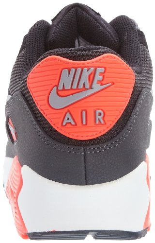 Nike Air Max 90 Essential, Baskets mode mixte adulte Noir