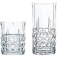 Spiegelau & Nachtmann 100719Juego de Vasos, 12Piezas, Highland Diamond, Cristal, Transparente, 28.4X 28.4X 19cm, 12Unidades