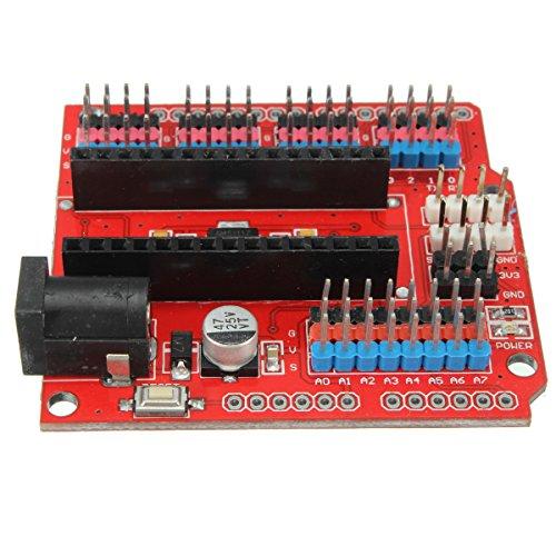 51PKETxLI0L - WINGONEER® Expansion Prototype Shield Módulo de placa de extensión de E/S para Arduino Nano V3.0
