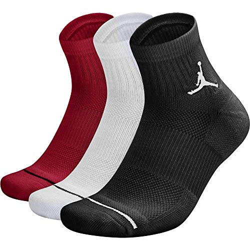 Nike Unisex Jordan Jumpman High Intensity Quarter Sock rot - S