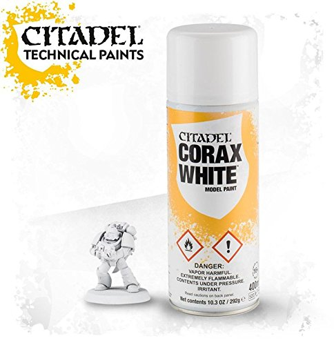 Warhammer 40K Citadel Corax White Model Paint by Games Workshop