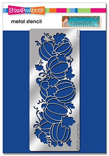Unbekannt Stampendous dwll514Dreamweaver Schablone, lang Kürbisse