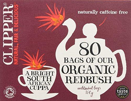 Clipper Organic Redbush Tea, 80 Bags, 180g
