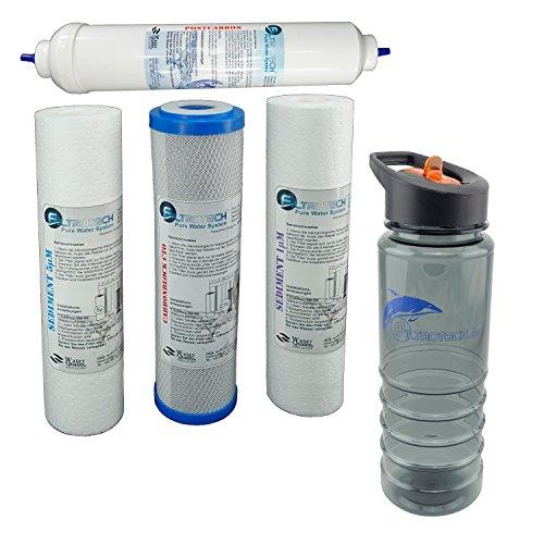 Vorfilter Set RO 5 FT/G2. Wasserfilter Ersatz Set für 5 Stufen Umkehrosmose Filter RO 5. -