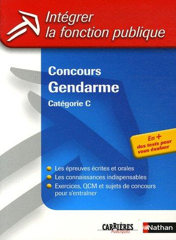 Concours Gendarme : Catégorie C