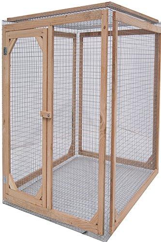 Enclos poule anti-prédateurs hauteur 180 cm made in france Taille 1 mètre