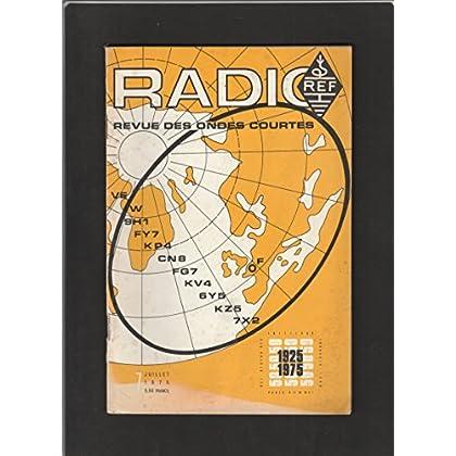 Radio REF [No 7 de Juillet 1975] Revue des ondes courtes