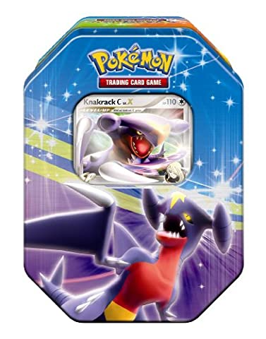 Pokémon Company EX25290 - Pokémon Deck Tin Serie 11: Knackrack [DEUTSCH] (Pokemon Diamant)