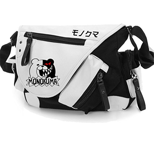 Yoyoshome giapponese anime Cosplay zaino Zaino messenger bag borsa a tracolla (26stili), Naruto Danganronpa