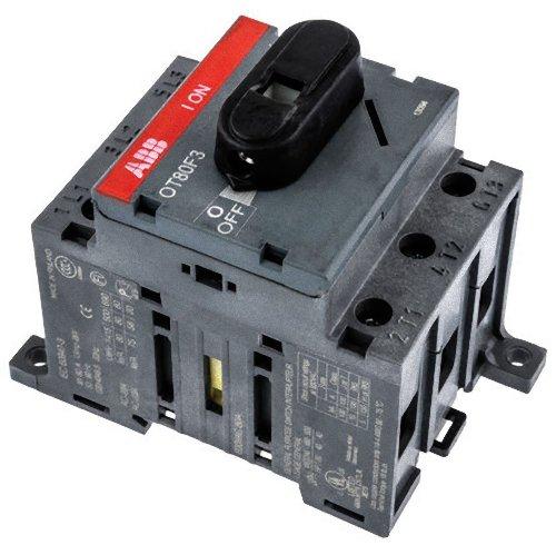 Abb-entrelec ot80f3 - Interruptor secciónador/secciónable 3 Polos 80a 80/75a/a