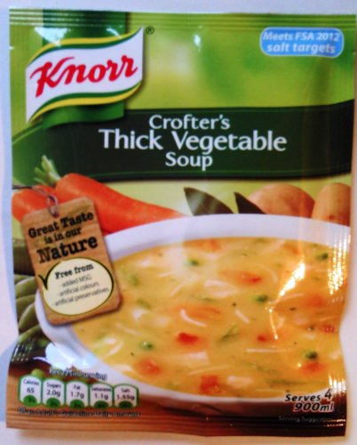 Spessa minestra di verdura di Knorr Crofter - 9 x 75g
