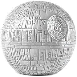 Hucha Star Wars Estrella de la Muerte de acero inoxidable, color blanco