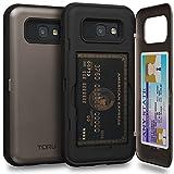 TORU CX PRO Galaxy A5 2017 Wallet Case with Hidden ID Slot