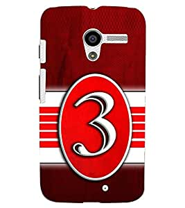 PRINTSWAG TYPOGRAPHY Designer Back Cover Case for MOTOROLA MOTO X