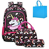 Kids Backpack Unicorn Bag Girls School Bags for Girls School Backpack Unicorn Backpacks for Girls for School Bags for Teenage Girls Gifts