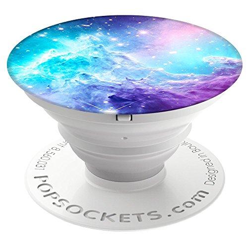 PopSockets - Ausziehbarer (Nicht Austauschbarer) Sockel und Griff für Smartphone und Tablet - Monkey Head Galaxy (Iphone 6 Fall Bis Disney)